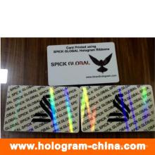 Прозрачные изготовленные на заказ Анти-поддельные код наложения мешок