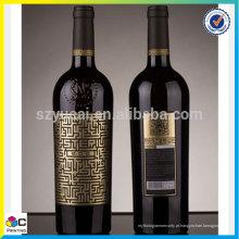 Etiqueta de vinhos de garantia de qualidade mais vendida