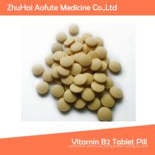 Píldora al por mayor de la tableta de la vitamina B2