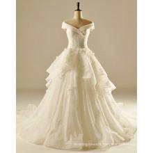 Plus Size Big Woman A Line Wedding Gown