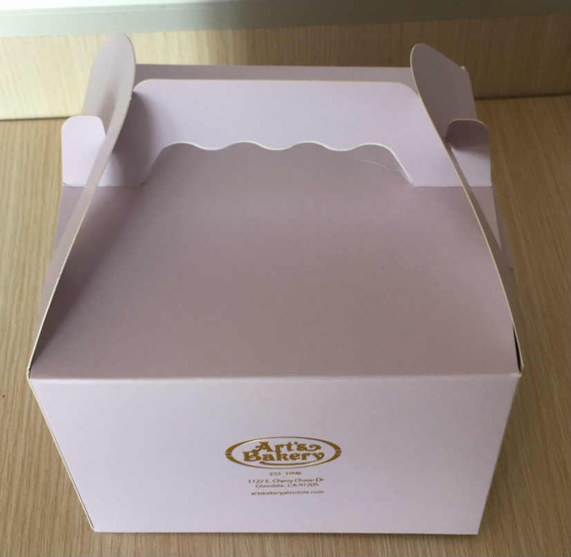 cake box customized