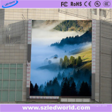 Pantalla digital del gabinete P6 SMD LED del hierro para hacer publicidad