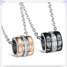 Lovers Pendant Stainless Steel Jewelry Fashion Necklace (NK370)