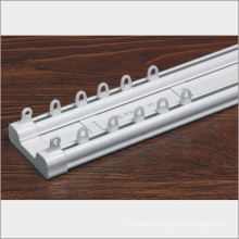 plastic double window pulley track
