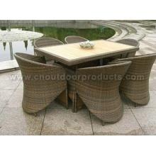 Rattan muebles de comedor
