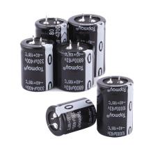 Etopmaytopmay Snap popular en el condensador electrolítico de aluminio terminal 330UF 200V Tmce18 para SVR