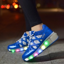 Roller Skating Led Shoes Glow Shoes for Boy&Girls