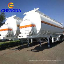 Semirremolque tanque de aceite diesel líquido de 3 ejes