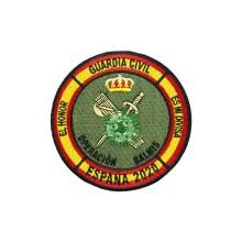 Военный армейский флаг специальный вышивальный крючок с петлей