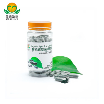 GMP Factory Supply Organic Spirulina Capsule