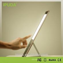 IPUDA 6 w tactile table led lampe led lampe de table tactile interrupteur et tactile variateur en aluminium corps