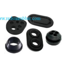 Molded Pull Through Silicone Rubber Grommet