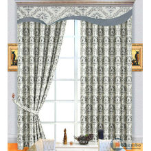 latest hot sale luxury royal ready made promotion curtains for manufactured home