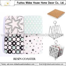 Home Decor Cork Coasters Bulk, Square Cork Coasters Wholesale