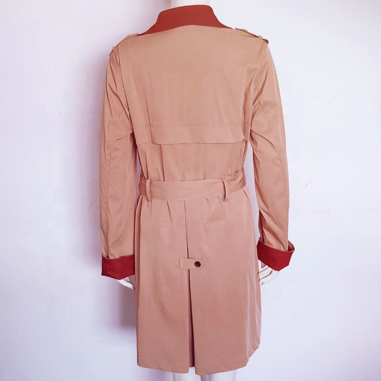 Women Slim Trench Coat