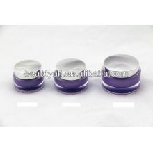 15g 30g 50g Oval Glowing special luxury acrylic cosmetic jar