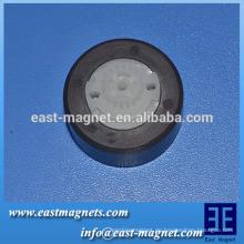 Magnetische Eigenschaften des anisotropen Ferritmagneten bipolar magnetisiert für Miniaturwasserpumpe / elektrischer Timer / Programmcontroller