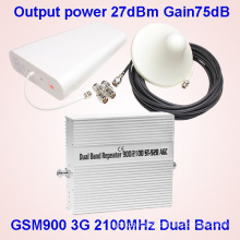 2g 3G 900 2100MHz Dual Band Cell Phone Signal Amplifier