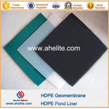 Espesor de placa impermeable HDPE 3mmx1mx2m