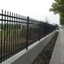 zinc steel fence pvc coated