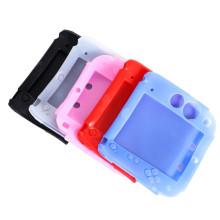Capa de pele de borracha macia de silicone de 5 estilos para Nintendo 2DS