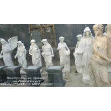 Wholesale life size girl sculpture four season goddess marble statue for garden