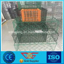 Galvanizado Gabion Caja Hot Dipped Wire Mesh Basket