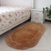 Custom Polyester Silk Foot Carpet and Mat