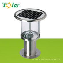 La plus grande efficacité de la conception du circuit solaire alimenté par lampe, éclairage de jardin extérieur, lampes de pelouse solaire