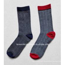 Women′s Knee-High Cotton Socks