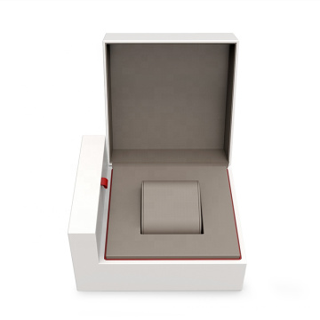 2021 New design black white red gray Plastic inside + specialty paper watch box pillow packaging watch box