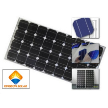 130W-160W Panel Solar Monocristalino De Silicio Panel Mono Módulos De Panel Solar