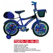 Cubierta de rueda de Blue Children Bicycle