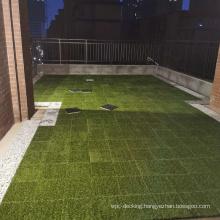 Popular Plastic Grass DIY Tiles For Outdoor,Stone DIY tiles