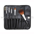 5PCS Cosmetic Make up Brush with Black Cosmetic Bag