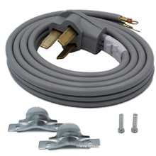 5'  range cords  40/50Amp  3 Wire 10AWG/3C  Gray