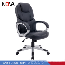 Popular ripple black ergonomic revolving racing leather office chair Specification