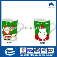 popular and hot sale Christmas gift 12oz ceramic mug