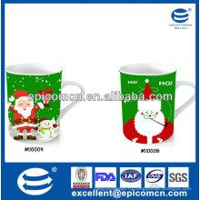Популярная и горячая продажа рождественский подарок 12oz керамическая кружка