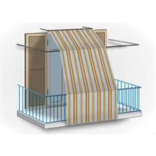 Fenstervorhang aus Polyester für Balkonschutz