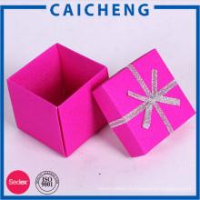 Chine fournisseur boîte de bonbons de mariage / bonbons emballage boîte conception