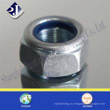 M5-M30 DIN982 Tuerca hexagonal sin bloqueo de metal