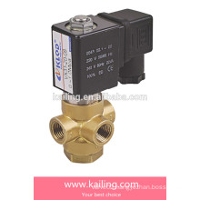 VX series 3/2 way direct acting solenoid valve for normal open, close &universal-type