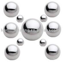 440 304 316 material: Esfera de aço inoxidável