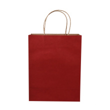 Eco friendly heavy duty costomized small gift paper bag for delivery
