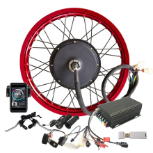 Newest Ebike Conversion Kit 72v5000w with Programmable Sabvoton Controller