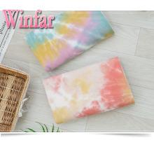 Spandex Brush Jersey Knit Tie Dye Tissu Femme