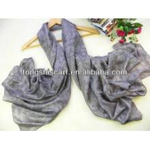 incrível 100 lenço de seda indiana
