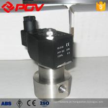 Válvula solenóide de conexão de rosca fêmea de alta pressão