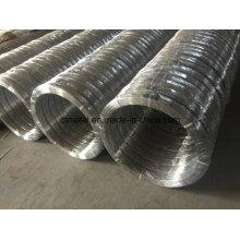 Fil galvanisé ovale 2.2X2.7mm pour clôture agricole